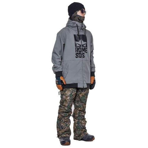 Jackets / Snow: Rome Sds Jacket Gray 1819 [Unisex] - Rome / L / Gray / 1819 Clothing Gray Ice & Snow Jackets | Occn-Whiteline-Sds
