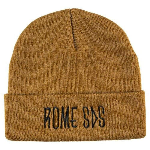 Headwear / Beanies: Rome Skelter Beanie Bronze 1819 [Unisex] - Rome / Free / Bronze / 1819 Accessories Bronze Head & Neck Wear Headwear /