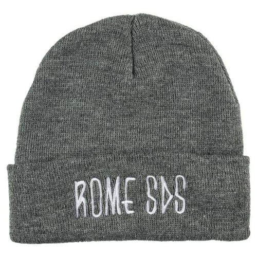 Headwear / Beanies: Rome Skelter Beanie Heather Char 1819 [Unisex] - Rome / Free / Charcoal / 1819 Accessories Charcoal Head & Neck Wear