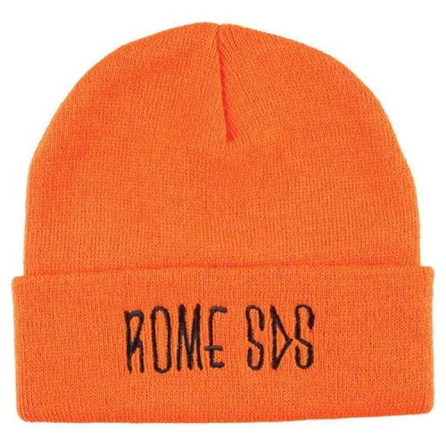 Headwear / Beanies: Rome Skelter Beanie Safety Orange 1819 [Unisex] - Rome / Free / Orange / 1819 Accessories Head & Neck Wear Headwear /