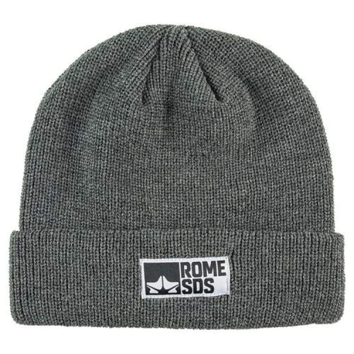 Headwear / Beanies: Rome Syndicate Beanie Heather Char 1819 [Unisex] - Rome / Free / Charcoal / 1819 Accessories Charcoal Head & Neck Wear