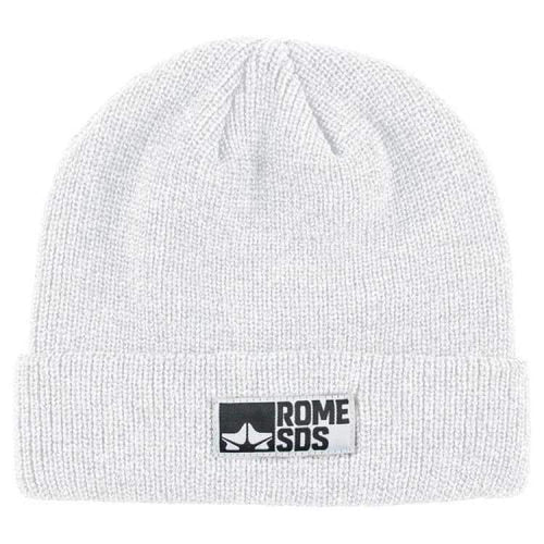 Headwear / Beanies: Rome Syndicate Beanie White 1819 [Unisex] - Rome / Free / White / 1819 Accessories Head & Neck Wear Headwear / Beanies