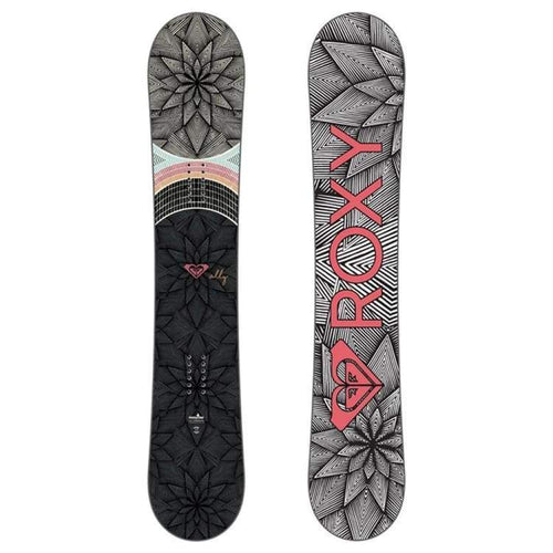 Snowboards: Roxy Ally Banana Snowboard 1819 [Womens] - Roxy / 143 / 1819 Gear Ice & Snow On Sale Roxy | Occn-Whiteline-18Sn057-None143