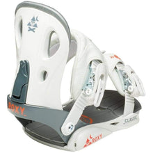 Snowboard Bindings: Roxy Classic Snowboard Binding 1516 [Womens] - 1516 Gear Grey Ice & Snow On Sale