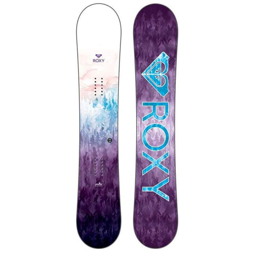 Snowboards: Roxy Sugar Banana Snowboard 1819 [Womens] - Roxy / 138 / 1819 Gear Ice & Snow On Sale Roxy | Occn-Whiteline-18Sn056-None138