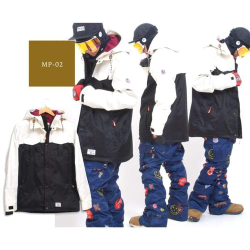 Jackets / Snow: Scream 2018/19 Ski And Snowboard Wear [Jacket + Pants] - Mp02 - S / Scream / 1819 Clothing Fun Factory Jackets Jackets /