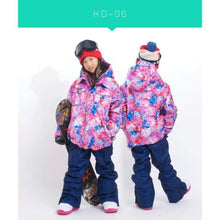 Jackets / Snow: Scream Kids Ski & Snowboard Unisex Jacket [Red]+Pants Set [Nav] [Kd-05] - Kd-06 / S / Scream / 1617 Clothing Fun Factory
