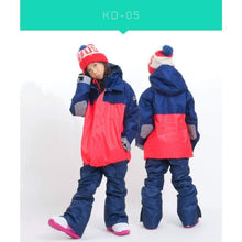 Jackets / Snow: Scream Kids Ski & Snowboard Unisex Jacket [Red]+Pants Set [Nav] [Kd-05] - Kd-05 / S / Scream / 1617 Clothing Fun Factory