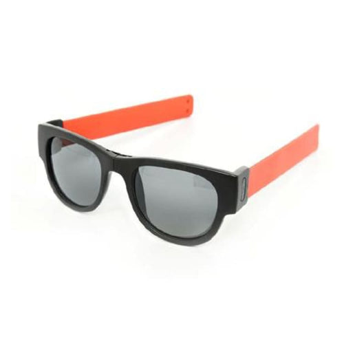 Sunglasses: Slapsee Pro Folding Sunglasses - Coral [ Polarised Lenses ] - Slapsee / Coral / Coral Cycling Eyewear Ice & Snow Koolkado |
