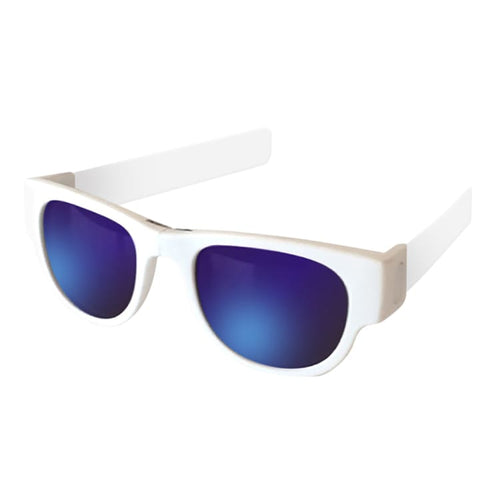 Sunglasses: Slapsee Pro Folding Sunglasses - Ice Ice Baby [ Polarised Lenses ] - Slapsee / Ice Ice Baby / Cycling Eyewear Ice & Snow Ice Ice