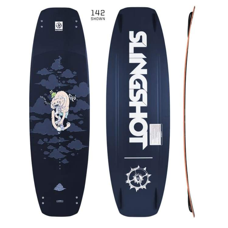 Wakeboards: Slingshot 142 Solo - 2018 - Slingshot / 142 / 2018 Gear On Sale Slingshot Wakeboarding | Occn-Whiteline-18245142