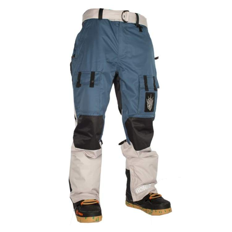Pants / Snow: Technine Goon 40 Oz Pant Shell Navy/mid Grey 1314 - Technine / L / Navy/mid Grey / 1314 Clothing Ice & Snow Mens Navy/mid Grey