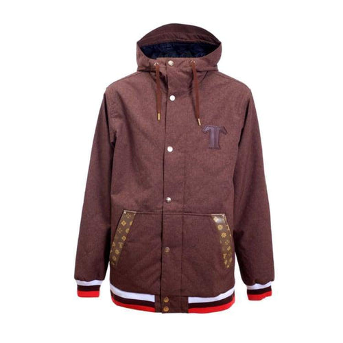 Jackets / Snow: Technine Luxury Jacket Brown - 1718 - Technine / L / Brown / 1718 Brown Clothing Down & Insulated Jackets Ice & Snow |