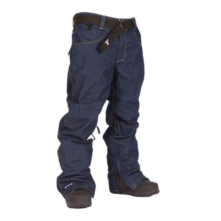 Pants / Snow: Technine Nines Denim Pant Shell Rawindigo 1415 - Technine / M / Rawindigo / 1415 Clothing Ice & Snow Mens On Sale |