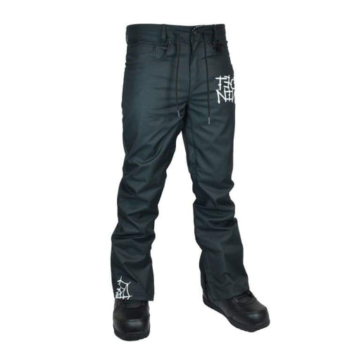 Pants / Snow: Technine Slimish Stretch Denim Pant Shell Black 1516 - Technine / L / Black / 1516 Black Clothing Ice & Snow Mens |