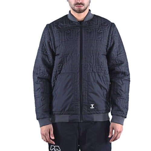 Jackets / Down & Insulated: Technine Ultra Light Down Insulate Jacket - Black/charcoal 1617 - Technine / L / Black/charcoal / 1617