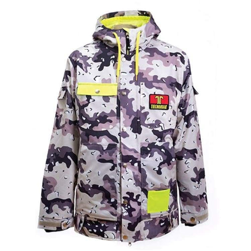 Jackets / Snow: Technine Work Ins Jacket Grey Camo - 1718 - 1718 Clothing Down & Insulated Jackets Grey Camo Ice & Snow
