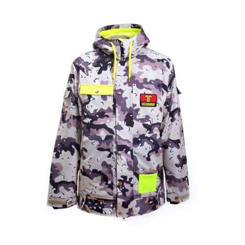 Jackets / Snow: Technine Work Ins Jacket Sand Camo - 1718 - Technine / L / Sand Camo / 1718 Clothing Down & Insulated Jackets Ice & Snow