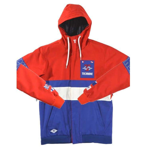 Jackets / Snow: Technine Yatch Jacket Red Combo - 1718 - 1718 Clothing Down & Insulated Jackets Ice & Snow Jackets