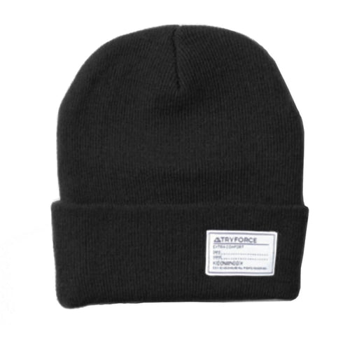 Headwear / Beanies: TF WATCH SOLID BEANIE-BLACK - TRYFORCE / Free / Black / 1920 Accessories Black BRUINS Headwear |
