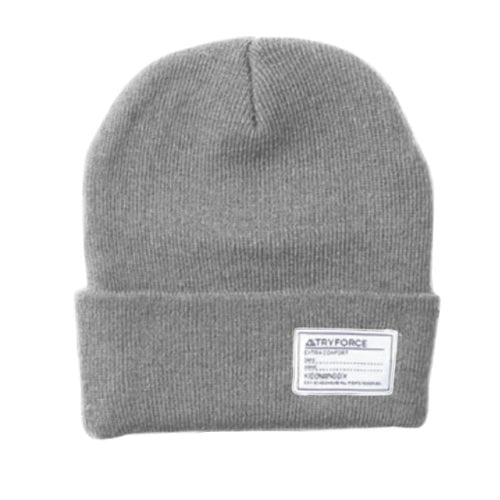 Headwear / Beanies: TF WATCH SOLID BEANIE-GRAY - TRYFORCE / Free / Gray / 1920 Accessories BRUINS Gray Headwear | OCJP-TRYFORCE-19TRF17-GRY