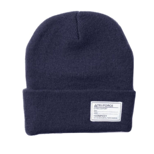 Headwear / Beanies: TF WATCH SOLID BEANIE-NAVY - TRYFORCE / Free / Navy / 1920 Accessories BRUINS Headwear Headwear / Beanies |