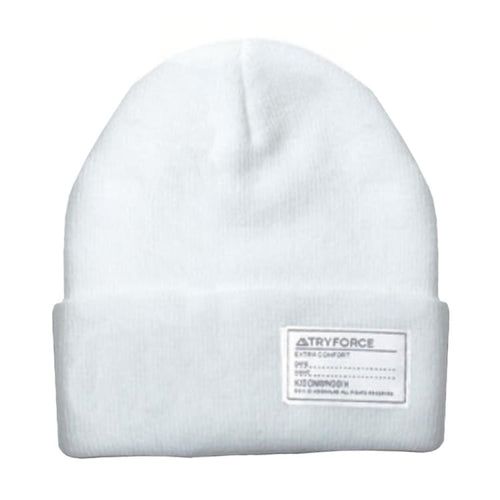 Headwear / Beanies: TF WATCH SOLID BEANIE-WHITE - TRYFORCE / Free / White / 1920 Accessories BRUINS Headwear Headwear / Beanies |
