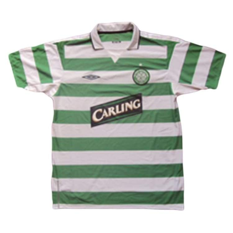 Jerseys / Soccer: Umbro Celtic 04/05 (H) S/s Jersey - Umbro / Xl / Green / 0405 Celtic Clothing Football Green | Ochk-Sfalo-Sssco01040H-