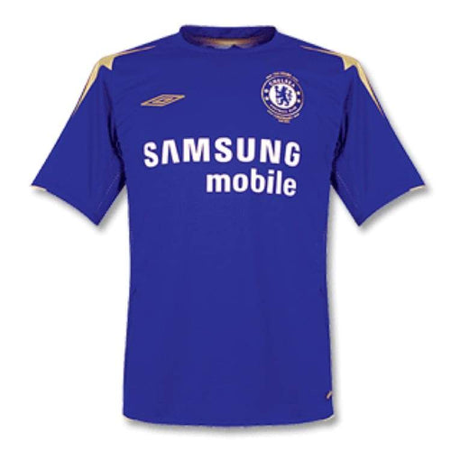 Jerseys / Soccer: Umbro Chelsea 05/06 (H) S/s 735703 100Th Centenary - Umbro / Xl / Blue / 0506 Blue Chelsea Clothing Football |