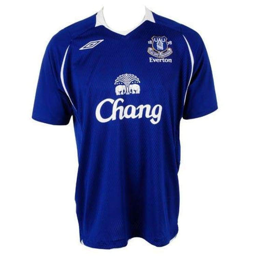 Jerseys / Soccer: Umbro Everton 08/09 (H) S/s Jersey 18510107 - Umbro / L / Blue / 0809 Blue Clothing Everton Football |