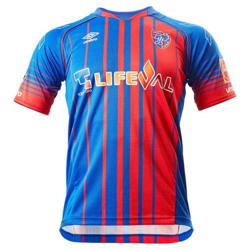 Jerseys / Soccer: Umbro F.c. Tokyo Fc 2017 Home S/s Jersey Uds6719H - Umbro / Ss-S / Blue/red / 2017 Blue/red Clothing F.c. Tokyo Football |