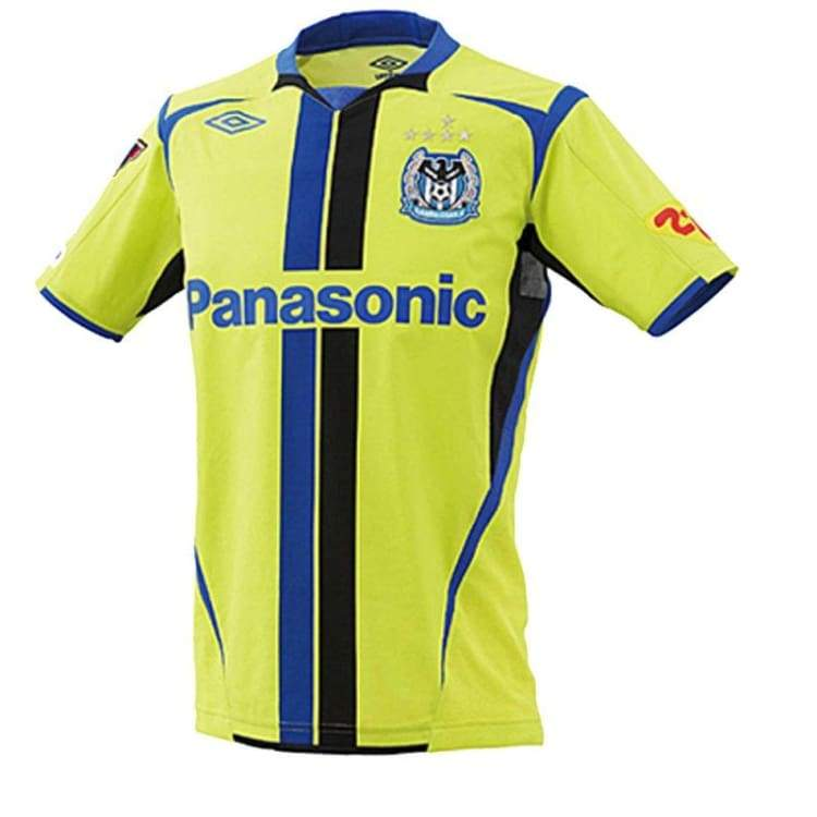 Jerseys / Soccer: Umbro Gamba Osaka 11/12 (3Rd) S/s Uds6116T - Umbro / O-Xo / Yellow / 1112 Clothing Football Gamba Osaka J-League |