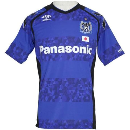Jerseys / Soccer: Umbro Gamba Osaka 17/18 (H) S/s Jersey Afc Version Uds6716Hc - Umbro / Ss-S / Blue / 1718 Blue Clothing Football Gamba