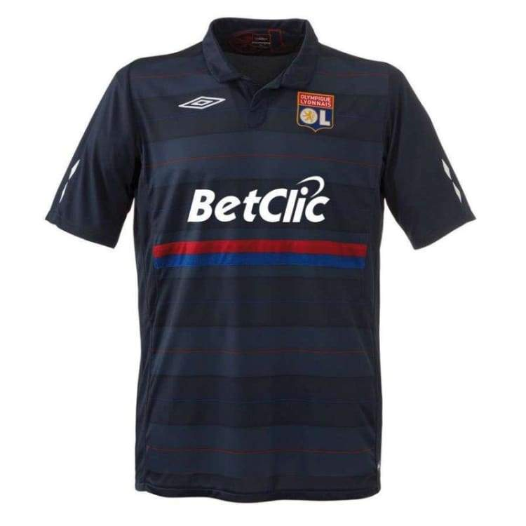 Jerseys / Soccer: Umbro Lyon 09/10 (3Rd) S/s Euro Shirt - Umbro / 2Xl / Navy / 0910 Clothing Jerseys Jerseys / Soccer Land |