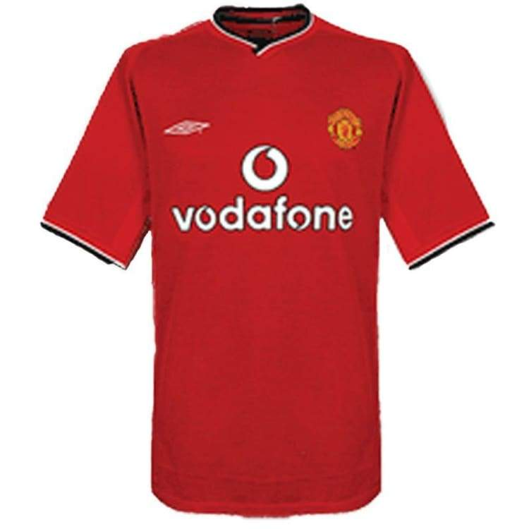 Jerseys / Soccer: Umbro Manchester United 00/02 (H) S/s - Umbro / Xl / Red / 0002 Clothing Football Home Kit Jerseys |