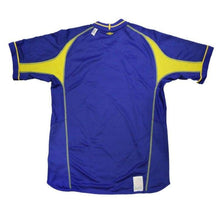 Jerseys / Soccer: Umbro National Team 2003 Sweden (A) S/s 11735626 - 2003 Away Kit Blue Clothing Football