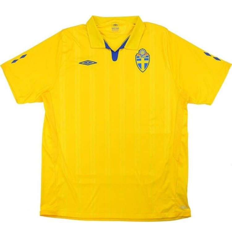 Jerseys / Soccer: Umbro National Team 2009 Sweden (H) S/s Jersey - Umbro / S / Yellow / 2009 Clothing Football Home Kit Jerseys |