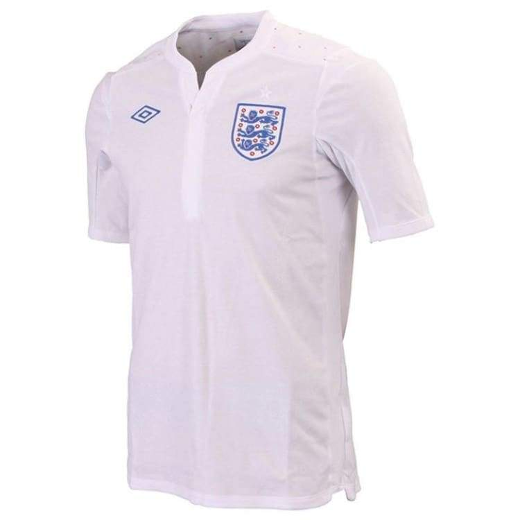 Jerseys / Soccer: Umbro National Team 2010 England (H) S/s Jersey 71611U - 40 (M) / White / Umbro / 2010 Clothing England Football Home Kit