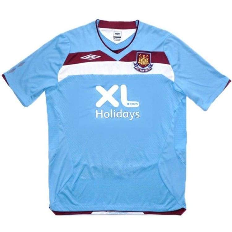 Jerseys / Soccer: Umbro West Ham United 08/09 (A) S/s - Umbro / L / Blue / 0809 Away Kit Blue Clothing Football | Ochk-Sfalo-Sseng13080A-1