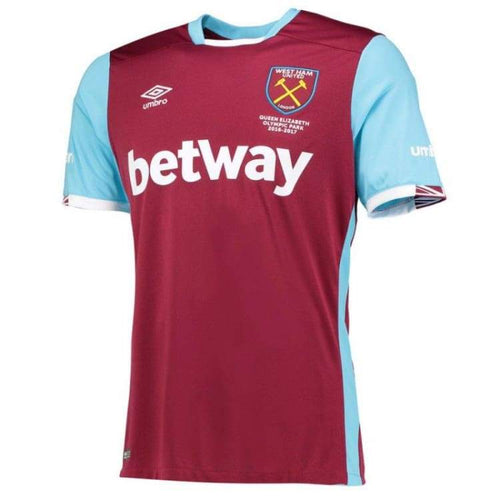Jerseys / Soccer: Umbro Westham United 16/17 (H) S/s 75310U-Kit - Umbro / Xl / Red / 1617 Clothing Football Home Kit Jerseys |