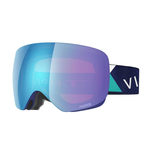 Goggles / Snow: Vight Aubrun Snow Goggle - Cross Blue A15048005 [Asian Fit] - Vight / Free / Cross Blue / 1819 Accessories Cross Blue