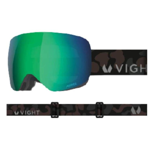 Goggles / Snow: Vight Aubrun Snow Goggle - Dark Camouflage A15048012 [Asian Fit] - 1819 Accessories Dark Camouflage Eyewear Goggles |
