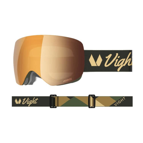 Goggles / Snow: VIGHT Aubrun Snow Goggle - GOLD GEOMETRIC A15048013 [Asian Fit] - VIGHT / Free / Gold Geometric / 1819 1920 Accessories