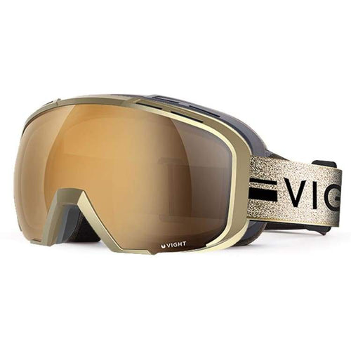 Goggles / Snow: Vight Croxx Snow Goggle - Gold C14057006 [Asian Fit] - Vight / Free / Gold / 1819 Accessories Eyewear Goggles Goggles / Snow