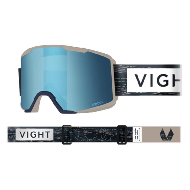 Goggles / Snow: VIGHT Defender Snow Goggle - WOODEN D17072005 [Asian Fit] - VIGHT / Free / Wooden / 1819 1920 Accessories Eyewear Goggles |