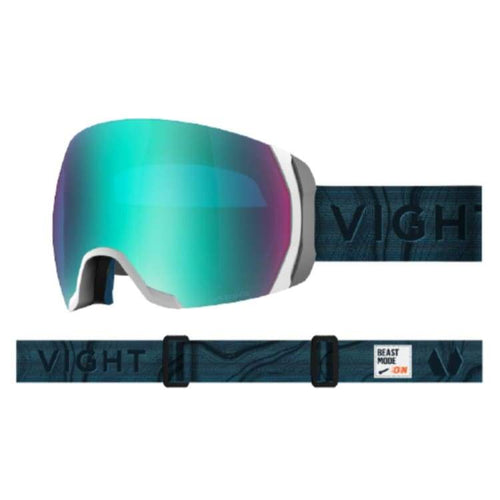 Goggles / Snow: Vight Highlander Goggle - Ice Blue H17066001 [Asian Fit] - 1819 Accessories Eyewear Goggles Goggles / Snow |