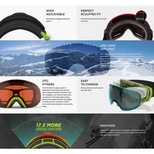 Goggles / Snow: Vight Highlander Goggle - Night Camo H17066002 [Asian Fit] - 1819 Accessories Eyewear Goggles Goggles / Snow |
