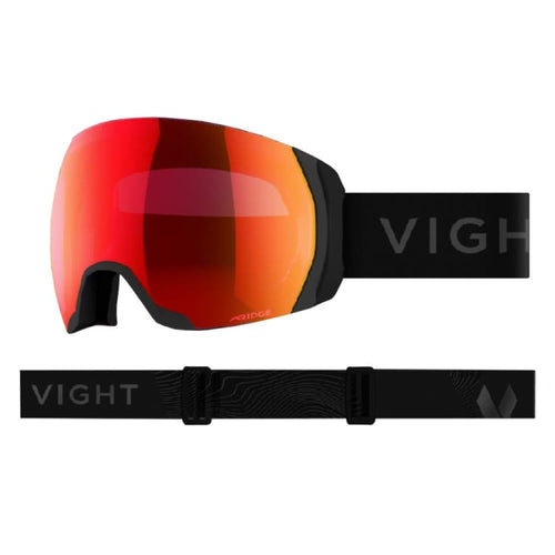Goggles / Snow: VIGHT Highlander Goggle - UTILITY BLACK H17066008 [Asian Fit] - VIGHT / Free / Utility Black / 1819 1920 Accessories Eyewear