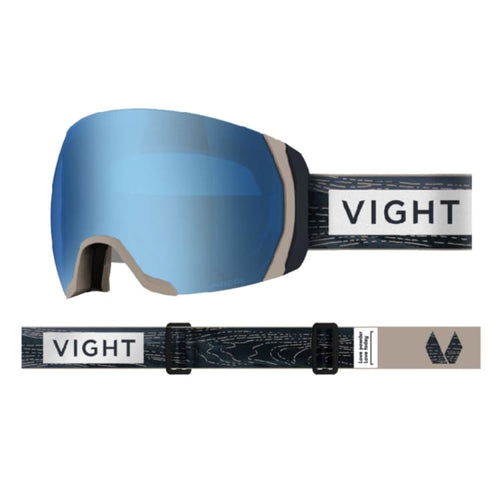Goggles / Snow: VIGHT Highlander Goggle - WOODEN H17066005 [Asian Fit] - VIGHT / Free / Wooden / 1819 1920 Accessories Eyewear Goggles |