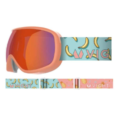 Goggles / Snow: Vight Pikko Snow Goggle - Fruit Paradise P11005012 [Asian Fit For Kids] - 1819 Accessories Eyewear Fruit Paradise Goggles |